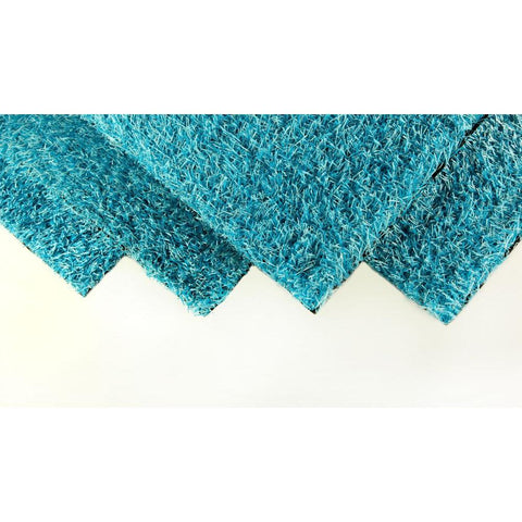 GREENLINE Caribbean Blue 6 ft. Wide x Cut to Length Artificial Grass
