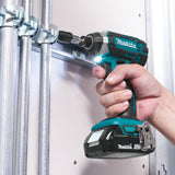 1.5 Ah 18-Volt LXT Lithium-Ion Compact Cordless 1/4 in. Impact Driver Kit