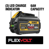 FLEXVOLT 60-Volt MAX Lithium-Ion Brushless Cordless 1/2 in. Mixer/Drill with E-Clutch with FLEXVOLT 9.0Ah Battery