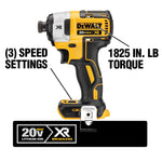 20-Volt MAX Lithium-Ion Cordless 1/4 in. Impact Driver with 20-Volt Cordless 6-1/2 in. Circular Saw (Tool-Only)