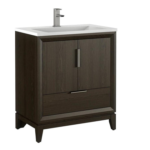 Scott Living Robinson 60-in White Double Sink Bathroom Vanity with White Acrylic Top