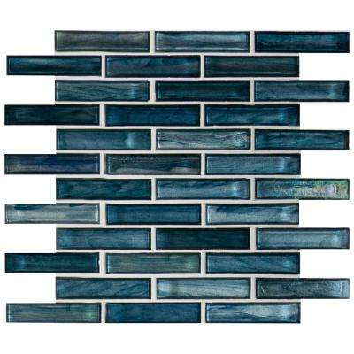 MSI      Oasis Blast 12 in. x 12 in. x 6 mm Glossy Glass Mesh-Mounted Mosaic Tile (1 sq. ft.)