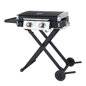 Blue Rhino Razor Black/Powder Coated 2 Liquid Propane Gas Grill