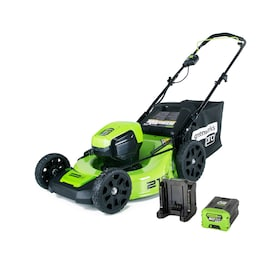 Greenworks Pro 60-volt Brushless Lithium Ion Push 21-in Cordless Electric Lawn Mower