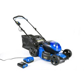 Kobalt 40-volt Max Brushless Lithium Ion Push 20-in Cordless Electric Lawn Mower