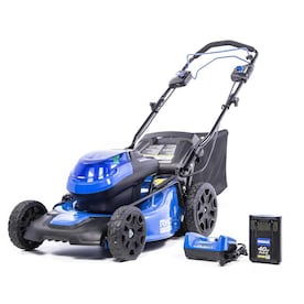 Kobalt 40-volt Max Brushless Lithium Ion Self-propelled 20-in Cordless Electric Lawn Mower