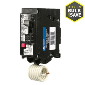 GE Q-Line THQL 15-Amp 1-Pole Dual Function AFCI/GFCI Circuit Breaker - Hardwarestore Delivery