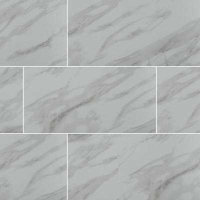 Exclusive         MSI      Aspen Gris 12 in. x 24 in. Matte Ceramic Floor and Wall Tile (16 sq. ft. / case)