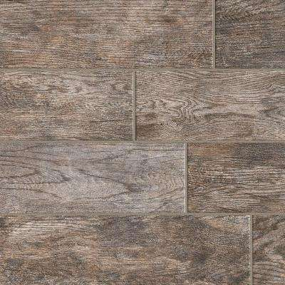 Marazzi      Montagna Rustic Bay 6 in. x 24 in. Glazed Porcelain Floor and Wall Tile (14.53 sq. ft. / case)