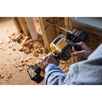 FLEXVOLT 60-Volt MAX Lithium-Ion Cordless Brushless 1/2 in. Stud and Joist Drill w/Batteries and Bonus Swivel Head Shear
