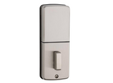 Kwikset Powerbolt2 Satin Nickel Single Cylinder Electronic Deadbolt Featuring SmartKey Security - Hardwarestore Delivery
