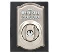 Schlage Camelot Satin Nickel Keypad Electronic Door Lock Deadbolt - Hardwarestore Delivery