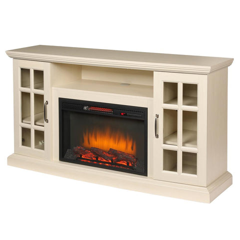 Edenfield 48 In Freestanding Infrared Electric Fireplace Tv Stand In Super Arbor