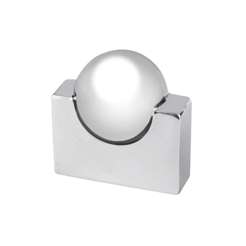Contemporary Collection 0.62 in. Center-to-CenterChrome Cabinet Pull