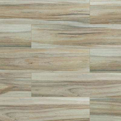 Exclusive         MSI      Ansley Amber 9 in. x 38 in. Matte Ceramic Floor and Wall Tile (14.25 sq. ft. / case)
