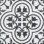 Exclusive         MSI      8 in. x 8 in. Amantus Encaustic Matte Porcelain Floor and Wall Tile (5.33 sq. ft./case)