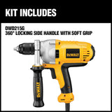 1/2 in. (13 mm) Variable Speed Reversing Mid-Handle Grip Drill with Keyless Chuck