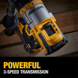 20-Volt MAX Cordless Brushless 1/2 in. Hammer Drill/Driver with FLEXVOLT ADVANTAGE Kit with (1) FLEXVOLT 6.0Ah Battery