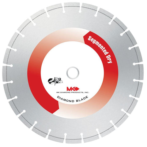 MK Diamond 14 in. x 19 Tooth General Purpose Dry Cutting High-Speed Circular Saw Blade