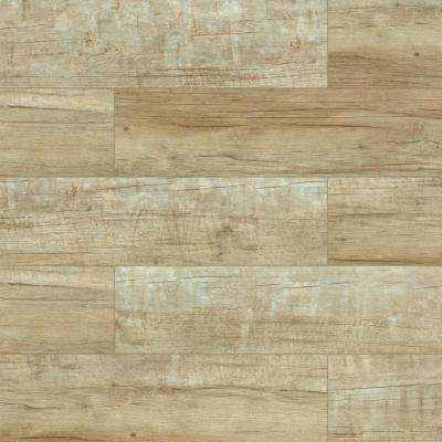 Capel Timber 6 in. x 24 in. Glazed Ceramic Floor and Wall Tile (17 sq. ft. / case)