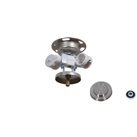 Brookedale 60 In Brushed Nickel Ceiling Fan Replacement Light Kit Super Arbor