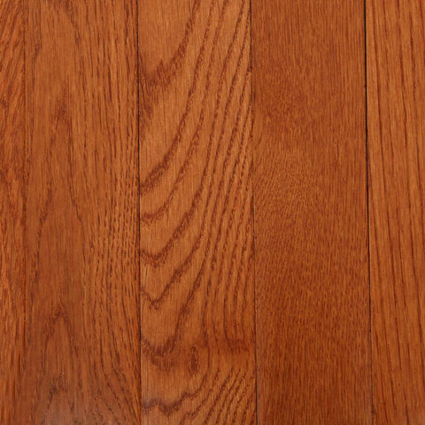 Bruce American Originals Copper Dark Red Oak 3/4 in. T x 2-1/4 in. W x Varying L Solid Hardwood Flooring (20 sq. ft. /case)