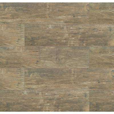 MSI      Redwood Natural 6 in. x 24 in. Matte Porcelain Floor and Wall Tile (10 sq. ft./case)