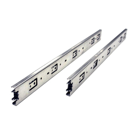 22 in. Full Extension Side Mount Ball Bearing Drawer Slide with Installation Screws (10-Pair)