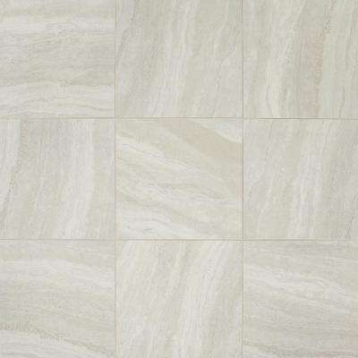 Daltile      Hamilton Linear Gray 18 in. x 18 in. Ceramic Floor and Wall Tile (17.76 sq. ft. / case)
