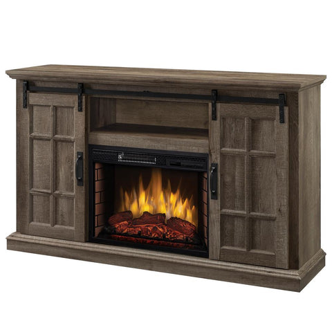 Colton 55 In W Freestanding Infrared Electric Fireplace Tv Stand With In Stock Hardwarestore Delivery
