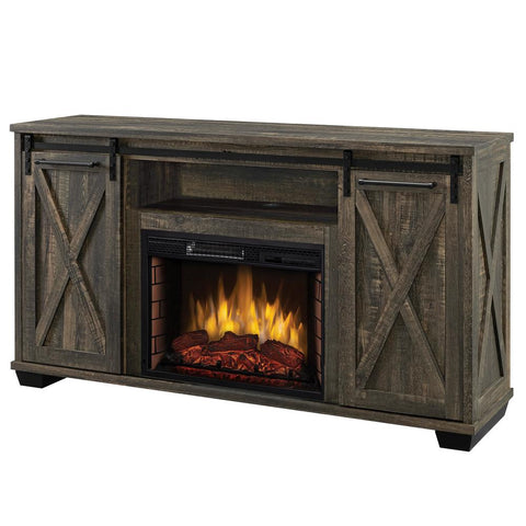 Rivington 58 In Freestanding Infrared Electric Fireplace Tv Stand Wit In Stock Hardwarestore Delivery