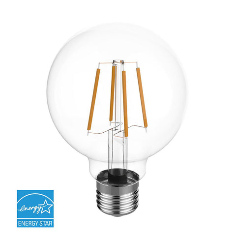 Euri Lighting 60w Equivalent Warm White 2700k G25 Dimmable Clear Led In Stock Hardwarestore Delivery