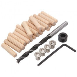 1/4 in. Doweling Accessory Set, 34 Pc.