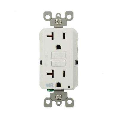 Leviton      20 Amp SmartlockPro Weather Resistant GFCI Outlet, White