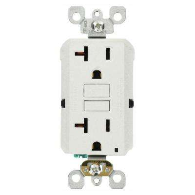 Leviton      20 Amp Self-Test SmartlockPro Slim GFCI Duplex Outlet, White (3-Pack)