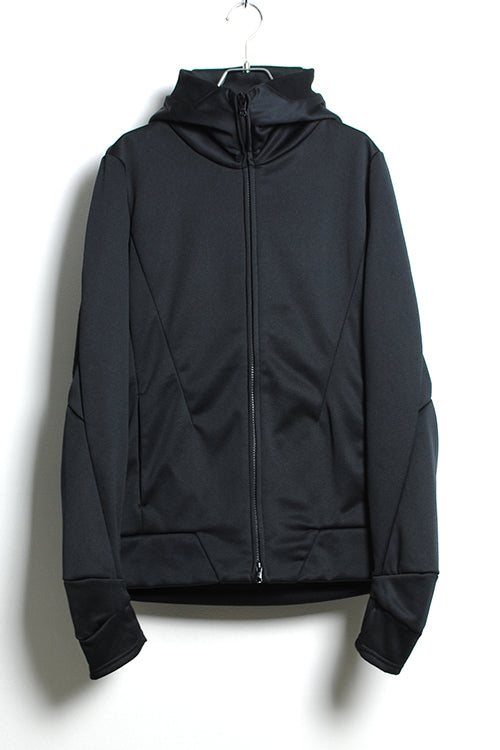 ZIP UP VACUUM NECK PARKA