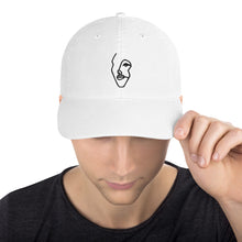 Load image into Gallery viewer, Champion Dad Hat with Black Single-Line Drawing