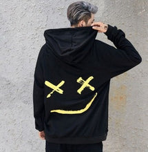 Load image into Gallery viewer, Hot Sale Fashion  Plus Size 3XL Hip Hop Street Wear Men Hooded Hoodies Smile Print Sweatshirts Tops Hoodie Clothes