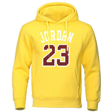 Load image into Gallery viewer, 2019 Autumn Winter Men Hoodies Jordan 23 Printed Male Sweatshirts Fashion Warm Streetwear Man Casual High Quality Mens Pullovers