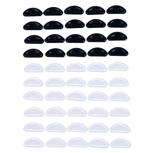 5 Pairs Adhesive Nose Pads Anti-slip Silicone EyeglAass Pads For Glasses