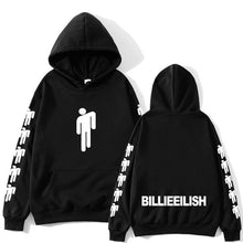 Load image into Gallery viewer, Billie Eilish Fashion Printed Hoodies Women/Men Long Sleeve Hooded Sweatshirts 2019 Hot Sale Casual Trendy Streetwear Hoodies