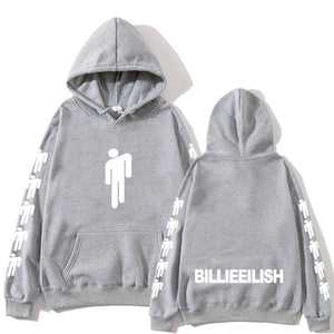 Billie Eilish Fashion Printed Hoodies Women/Men Long Sleeve Hooded Sweatshirts 2019 Hot Sale Casual Trendy Streetwear Hoodies
