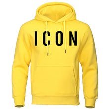 Load image into Gallery viewer, Icon Print Mens Hoodies 2019 Autumn Winter Sweatshirt Hot Sale Fashion Hoodie Casual hip hop Sweatshirt Autumn New Men Tracksuit