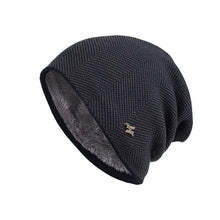 Load image into Gallery viewer, Men Winter Warm Hat New Fashion Adult Unisex Knitted Casual Beanies Skullies Cotton Wool Hats Brand Outdoor Solid Gorros