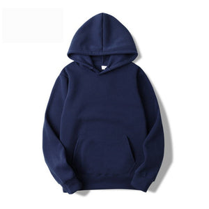 Quality Brand Men Hoodie 2019 Autumn Male Hip Hop Streetwear Men Pullover Sweatshirts Hoodies Mens Solid Color Hoodie