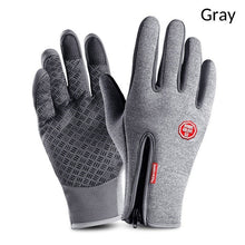 Load image into Gallery viewer, Winter Warm Ski Mens Gloves Women Cycling Touch Screen Waterproof Splash-proof Windproof Fashion Black Gloves Ladies Non-Slip