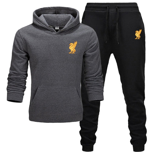 Liverpool tracksuit for men 2 sets of new fashion jacket men's sportswear Hoodie spring and autumn brand mens hoodies Sweatpants