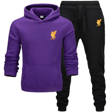 Load image into Gallery viewer, Liverpool tracksuit for men 2 sets of new fashion jacket men's sportswear Hoodie spring and autumn brand mens hoodies Sweatpants