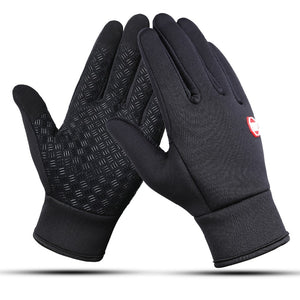 Touch Screen Windproof Outdoor Sport Gloves For Men Women Warm guantes tacticos luva Thicken Winter Windstopper Men Gloves