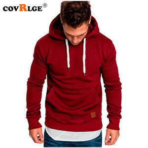 Covrlge Mens Sweatshirt Long Sleeve Autumn Spring Casual Hoodies Top Boy Blouse Tracksuits Sweatshirts Hoodies Men MWW144